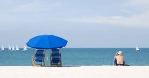 nad morze wakacyjne Zdjęcia Royalty Free