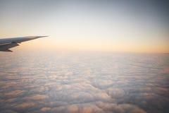 Nad niebo Obraz Stock