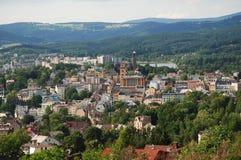NAD Nisou, Τσεχία Jablonec στοκ εικόνα με δικαίωμα ελεύθερης χρήσης