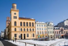 NAD Nisou, Τσεχία Jablonec Στοκ Εικόνες