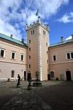 Nad Ohri van Klasterec van de manor Stock Fotografie