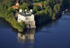 Nad Orlik Vltavou van de manor hause Royalty-vrije Stock Fotografie