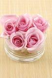 nad różami ręcznikowymi Obrazy Royalty Free