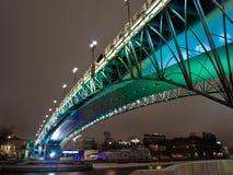 nad rzeką bridżowy Moscow Fotografia Stock