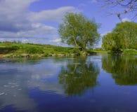 nad rzekę avon Zdjęcia Stock