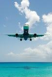 nad samolot wodą duży lądowanie Zdjęcie Royalty Free