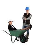 Nadąsane kobiety pracuje wpólnie Zdjęcie Royalty Free