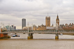 nad Thames widok Obrazy Stock