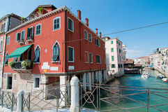 nad Venice bridżowy kanał Zdjęcia Royalty Free
