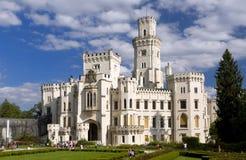 Nad Vltavou van Hluboka van het kasteel royalty-vrije stock foto's