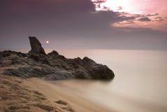 nad wschód słońca athos góra Zdjęcie Royalty Free