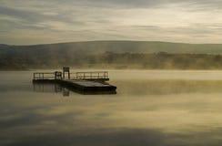 nad wschód słońca wodą Zdjęcie Royalty Free
