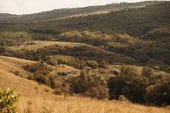 Nad wzgórzami zdjęcia royalty free