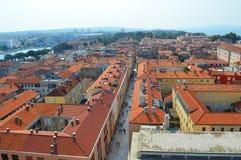 Nad zadar w Croatia Obrazy Royalty Free