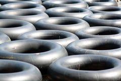 Nadada del negro del anillo Imagen de archivo libre de regalías