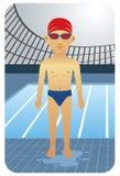 Nadador Imagens de Stock