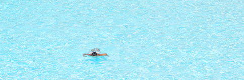 Nadador Fotografia de Stock