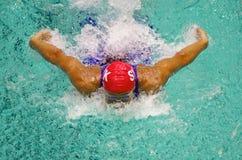 Nadador Fotografía de archivo libre de regalías