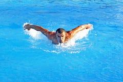 Nadador Imagem de Stock