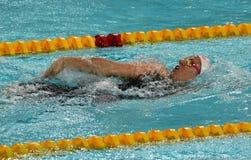 Nadador australiano Emily SEEBOHM AUS do olímpico e do campeão mundial Imagens de Stock