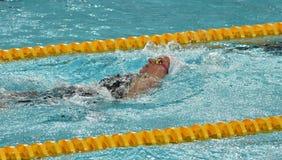 Nadador australiano Emily SEEBOHM AUS do olímpico e do campeão mundial Fotografia de Stock Royalty Free