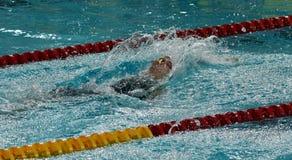 Nadador australiano Emily SEEBOHM AUS do olímpico e do campeão mundial Imagens de Stock Royalty Free