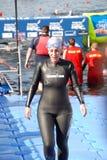 Nadador bem sucedido imagem de stock royalty free