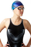 Nadador bonito Fotos de Stock