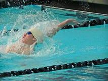 Nadador competitivo Imagenes de archivo