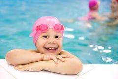 Nadador do bebê imagem de stock