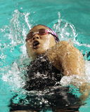 Nadador Erika Kong Fotos de archivo