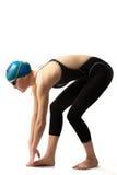 Nadador hermoso Fotografía de archivo
