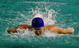 Nadador Marellyn Liew Foto de archivo