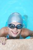 Nadador pequeno Imagens de Stock Royalty Free