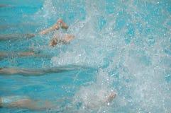 Nadadores Fotografía de archivo libre de regalías