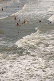 Nadadores del océano Imagen de archivo