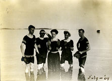 Nadadores do vintage Imagem de Stock Royalty Free