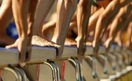 Nadadores masculinos Foto de Stock