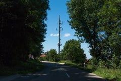 Nadajnika maszt w Germany Fotografia Royalty Free