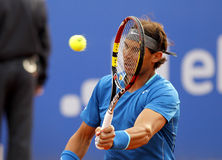 nadal gracza rafa spanish tenis Zdjęcia Stock