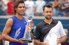 Nadal & Kiefer finalists of Rogers Cup 2008 (146) Royalty Free Stock Photos