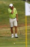 Nadal på golf 029 Arkivbilder