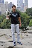 Nadal Rafa赢取了美国公开赛2013年(5) 免版税库存照片