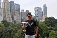 Nadal Rafa赢取了美国公开赛2013年(6) 库存图片