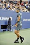 Nadal Rafa赢取了美国公开赛2013年(41) 免版税库存图片