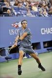 Nadal Rafa赢取了美国公开赛2013年(40) 免版税图库摄影
