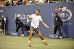 Nadal Rafa赢取了美国公开赛2013年(15) 库存照片