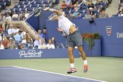 Nadal Rafa赢取了美国公开赛2013年(16) 免版税库存照片