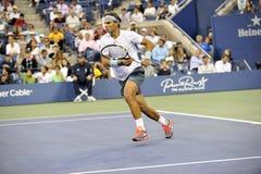 Nadal Rafa segrade US Open 2013 (18) Arkivbild