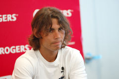 Nadal Rafael # 1 in Atp 2008 (1) Lizenzfreies Stockfoto
